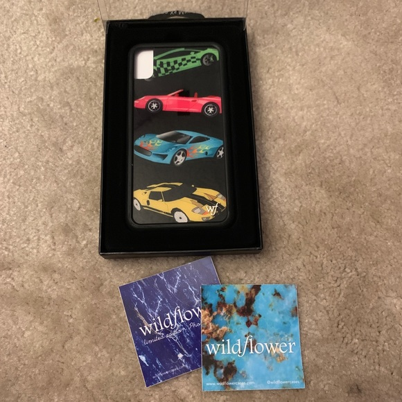 "Wildflower | iPhone XS Max ""Motorsport"" Case"
